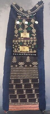 Antique Miao Hmong embroidery Silver indochine