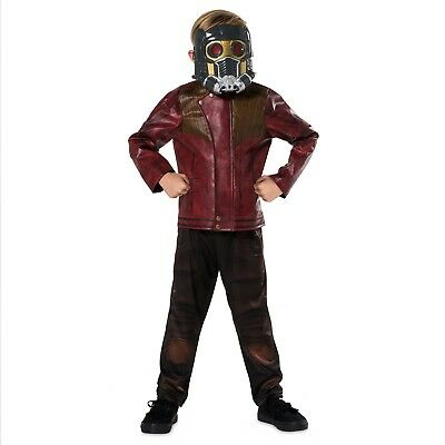 Disney Store Star Lord Costume Mask Halloween Dress Up Guardians of the Galaxy