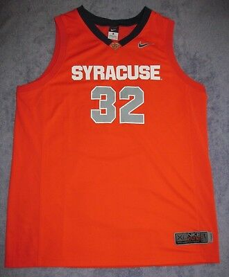 separation shoes 6f1d4 7f149 SYRACUSE ORANGE BASKETBALL #32 Nike Elite Jersey Men XL Coleman