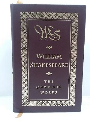 """William Shakespeare, The """"Complete"""" Works Leather Barnes & Noble (1994)"""