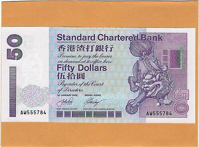 Pick 400a Ae 958946 2002 $10 Hong Kong Government Banknote Unc