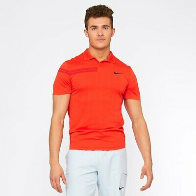 NikeCourt Advantage Roger Federer Men's Tennis Polo Top Shirt