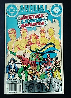 Justice League Annual #2 First Appearance Vibe! Vg/f