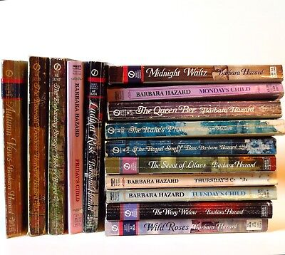 Barbara Hazard - Regency Romance Books - Choose Your Own Lot 1 or More - Signet