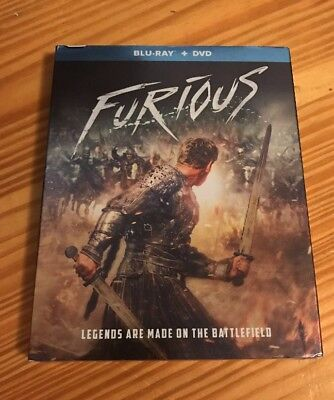 New Furious Blu Ray Dvd 2 Disc Set + Slipcover Sleeve Free World Wide Shipping