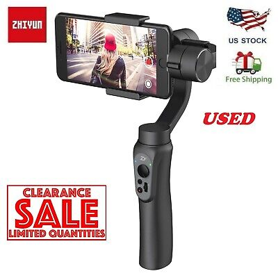 50% OFF Zhiyun Smooth-Q Handheld Smartphone Gimbal Stalilizer for iPhone X xs XR