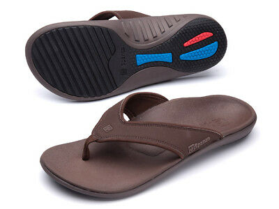 Spenco Total Support Mens SandalsToe Thong Style /'Yumi Orthotic Arch Comfort
