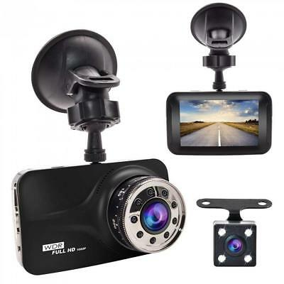 "Dash Cam, GERI Black Box dash camera Full HD 1080P 3"" LCD Car DVR dual..."