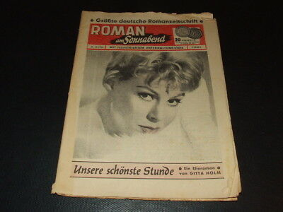 Romanheft aus 1960 … Evy Norlund (Cover), Gianna Maria Canale, Marianne Hold