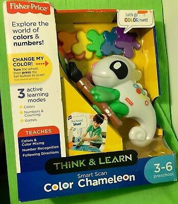 Toy Think and Learn Fisher-Price Smart Scan Color Chameleon