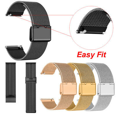 2018 Milanese Stainless Steel Strap Replacement Watch Band for Fitbit Versa US