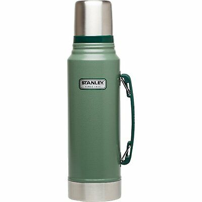 Stanley 1.1qt Classic Coffee Thermos Vacuum Bottle Stainless Steel Insulated Lid
