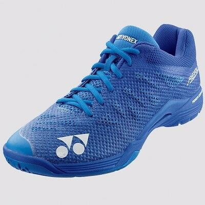 2018-19 Yonex AERUS 3 Mens Badminton Shoes SHBA3M BLUE, Power Cushion/Lightest