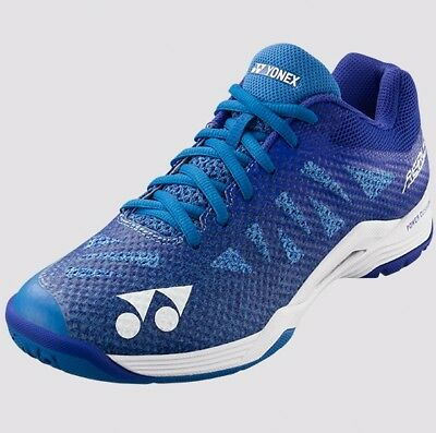 2018-19 Yonex AERUS 3 Ladies Badminton Shoes SHBA3L BLUE, Power Cushion/Lightest