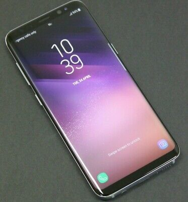 Samsung Galaxy S8 SM-G950 - 64GB - Orchid Gray (Unlocked) Android Smartphone