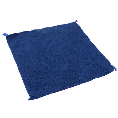 Microfibre Cleaning Auto Car Detailing Cloths Home Kitchen Wash Towel Blue