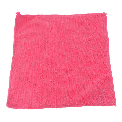 Microfibre Cleaning Auto Car Detailing Cloths Home Kitchen Wash Towel Pink