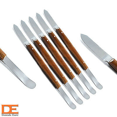 Set Of 5 Laboratory Instruments Wax Knives Small Wax Modeling Carvers Technician
