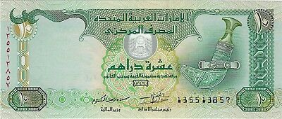 United Arab Emirates, 2013 10 Dirhams P-27c  (Unc))
