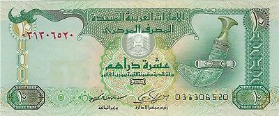 United Arab Emirates, 2009 10 Dirhams P-27a  (Unc))