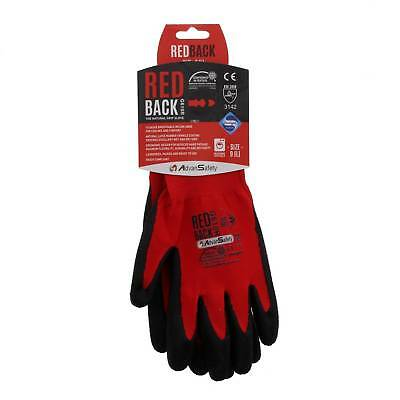 Large Ninja Flex (Red Hog) Gloves High Grade Abrasion Resistance Breathable