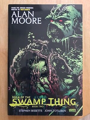 Saga Of The Swamp Thing Book Two (Hardcover) Alan Moore