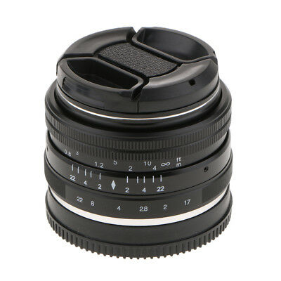 MagiDeal 35mm f 1.7 Large Aperture Manual Focus Lens For Sony E Mount Camera