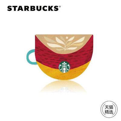 2018 New Starbucks China Autumn Hot Drinks Gift Card Pin intact