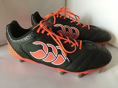 Canterbury Of New Zealand Stampede Club 8 Stud Rugby  Boots Size Uk Size 9 Vgc