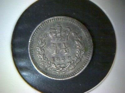 Great Britain 1838 1 1/2 Pence