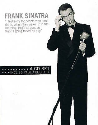 "Frank Sinatra"" 4cd-set Incl. 36 Page Folleto ""Nuevo Sellado 68 Tracks 78rpm Time"