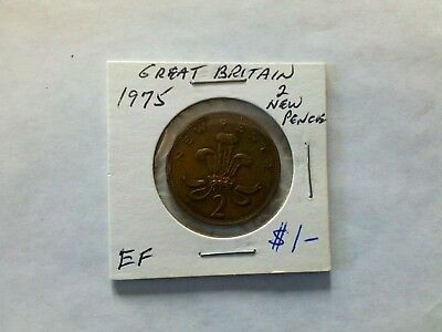Great Britain 1975 2 New Pence