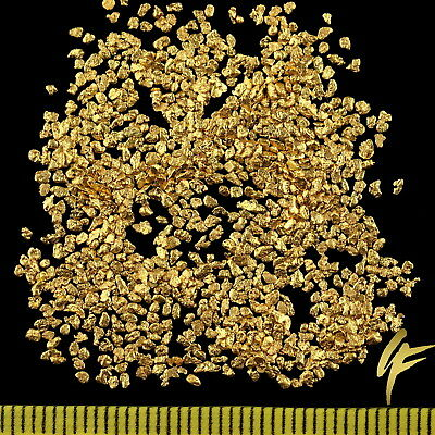 3 Gram Real Gold-Nuggets from Alaska 1 mm 20-23 Carat Bars Jewelry Gift