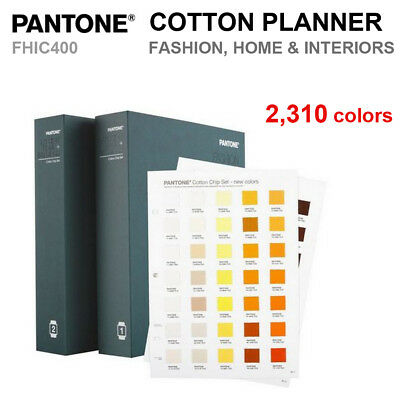 Pantone FHIC400 FASHION, HOME + INTERIORS Cotton Chip Set 2,310 Colors