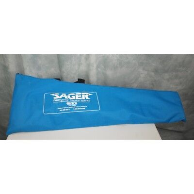 Sager Emergency Adult Traction Splint Kit for bilateral lower limb fractures