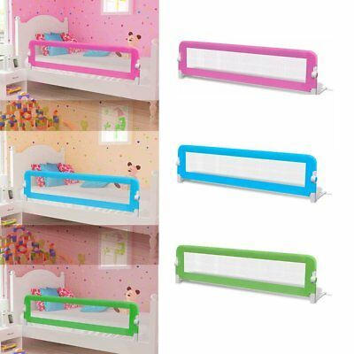 Toddler Single Bed Rail Safety Guard for Baby Side Mesh Barrier Bedroom 3 Color