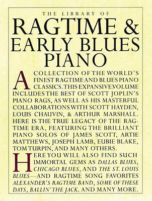 The Library of Ragtime & Early Blues Piano 14019055