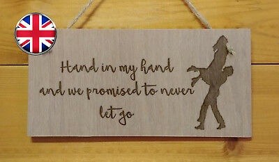 It/'s the choices we make.A Dumbledore Harry Potter movie themed plaque Engraved