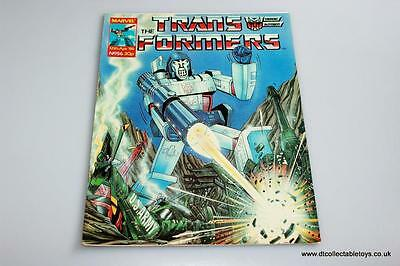 Transformers G1 UK Marvel Comic Issue #56 12th Apr. '86 RARE