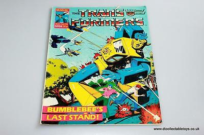 Transformers G1 UK Marvel Comic Issue #58 26th Apr. '86 RARE