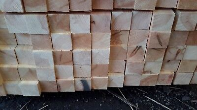 70 x 70mm (3×3) planed redwood timber posts