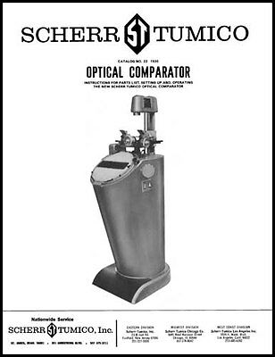 Scherr - Tumico 14 Inch Comparator Manual