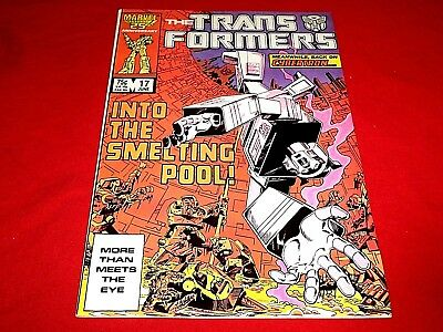 The Transformers # 17 (Marvel) 1986, VG+