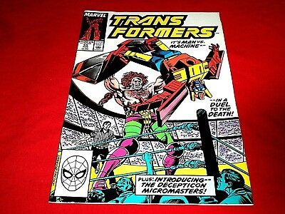 The Transformers # 55 (Marvel) 1989, VG+
