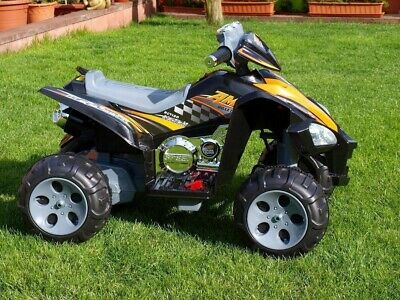 Predatour 12v Kids Electric Ride on Beach Quad Bike - Black