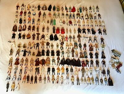 Star Wars Huge Joblot Bundle Of Vintage And Modern Figures And Accessories.
