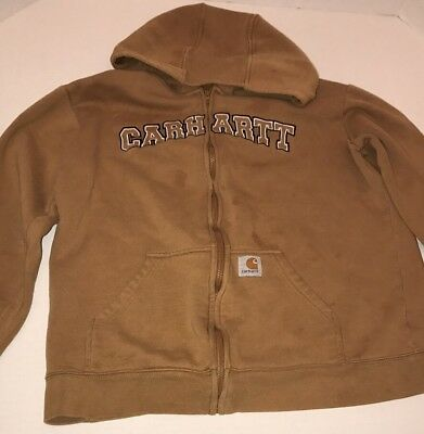 Carhartt Sz L Youth Hoodie Jacket Daddy Helper Delight Free Shipping
