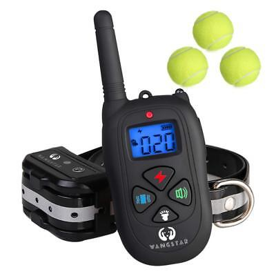 Dog Training Collar Remote 1450FT Rechargeable Waterproof Shock Collar with Tenn