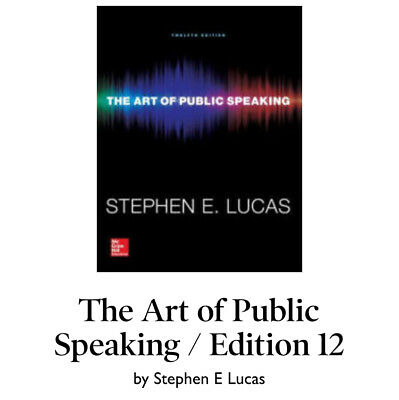 Connect access code the art of public speaking by stephen lucas the art of public speaking by stephen lucas paperback 12th edition 2014 fandeluxe Images