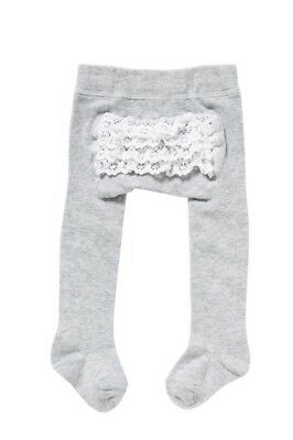 Bonds Grey Stockings Tights Baby Girl Size 1-2
